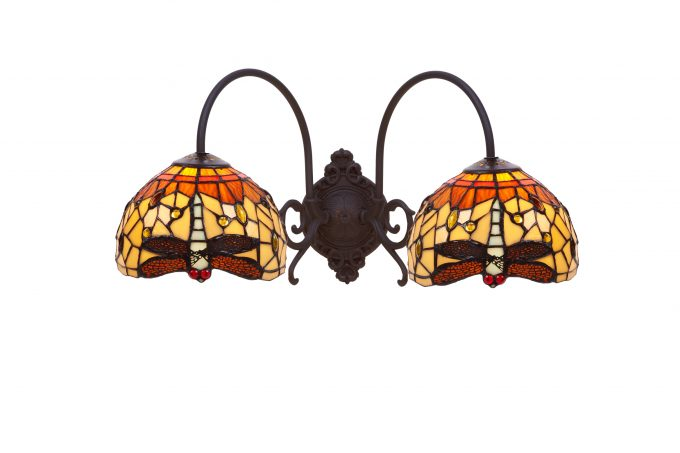 Bell  Amber aplique 2 luces
