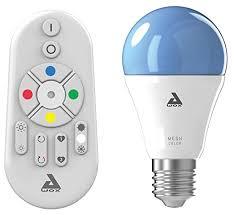 Bombilla Bluetooth Awox Bombilla Bluetooth Awox es una bombilla Led de 9w (809 lumens), controlada mediante mando a distancia o por aplicación para movil y tablet. Podemos conectar hasta 50 bombillas y crear grupos entre ellas, por ejemplo la luz de salón, de nuestro dormitorio,la habitación de los niños etc etc, podemos controlar la intensidad de la luz dependiendo de nuestras preferencias o momentos del día, también el color de la luz ,pasando de la luz cálida (2700K) a la fría (6500K), ademas es una bombilla RGB, con lo que podemos poner colores a nuestra bombilla a nuestro antojo y crear ambientes divertidos. Sus dimensiones reducidas ( 6 centímetros de diámetro y 11,6 de largo) nos permitirá colocar la bombilla en casi cualquier luminaria, tanto en plafones de techo o apliques de pared, perfecta para cualquier pantalla.