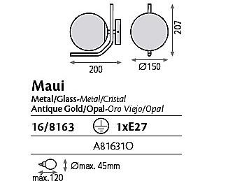 Aplique Maui